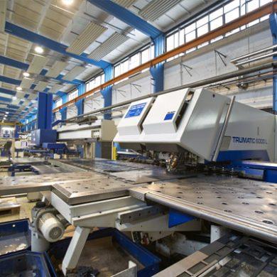 CNC-Stanz- & Laserbearbeitung