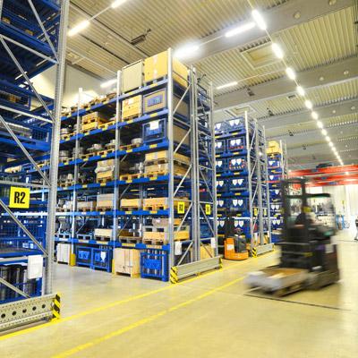 Branchenbeispiel Lagertechnik