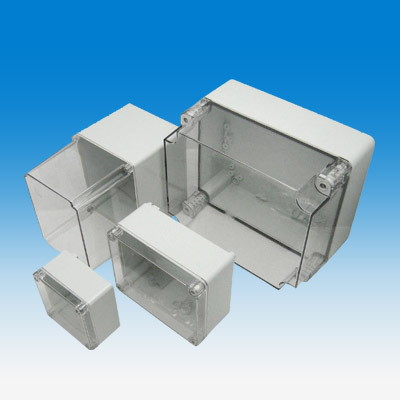 Industriegehäuse mit transparentem Deckel