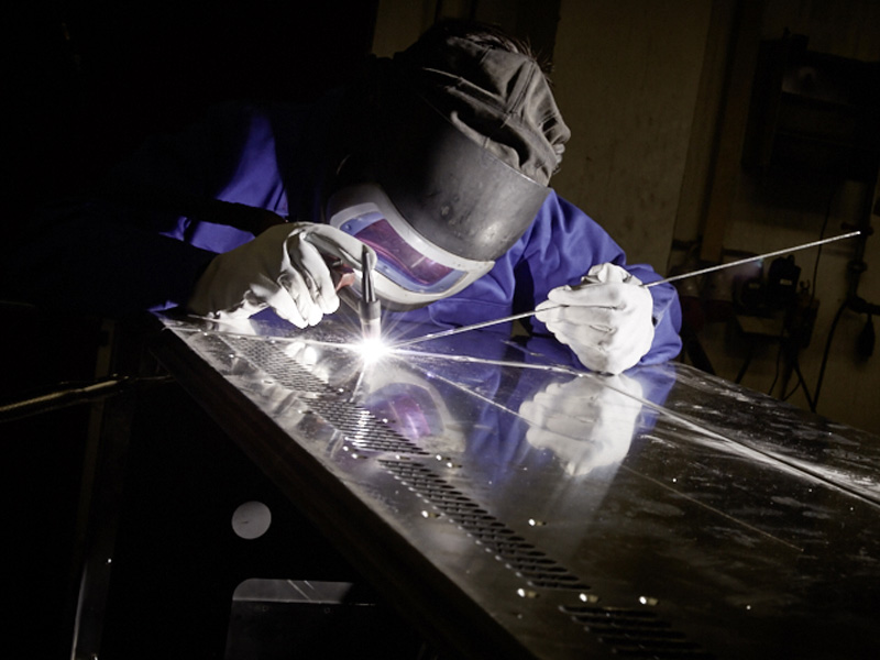 WIG Schweissen Aluminium