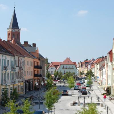 Innenstadt Cottbuser Straße