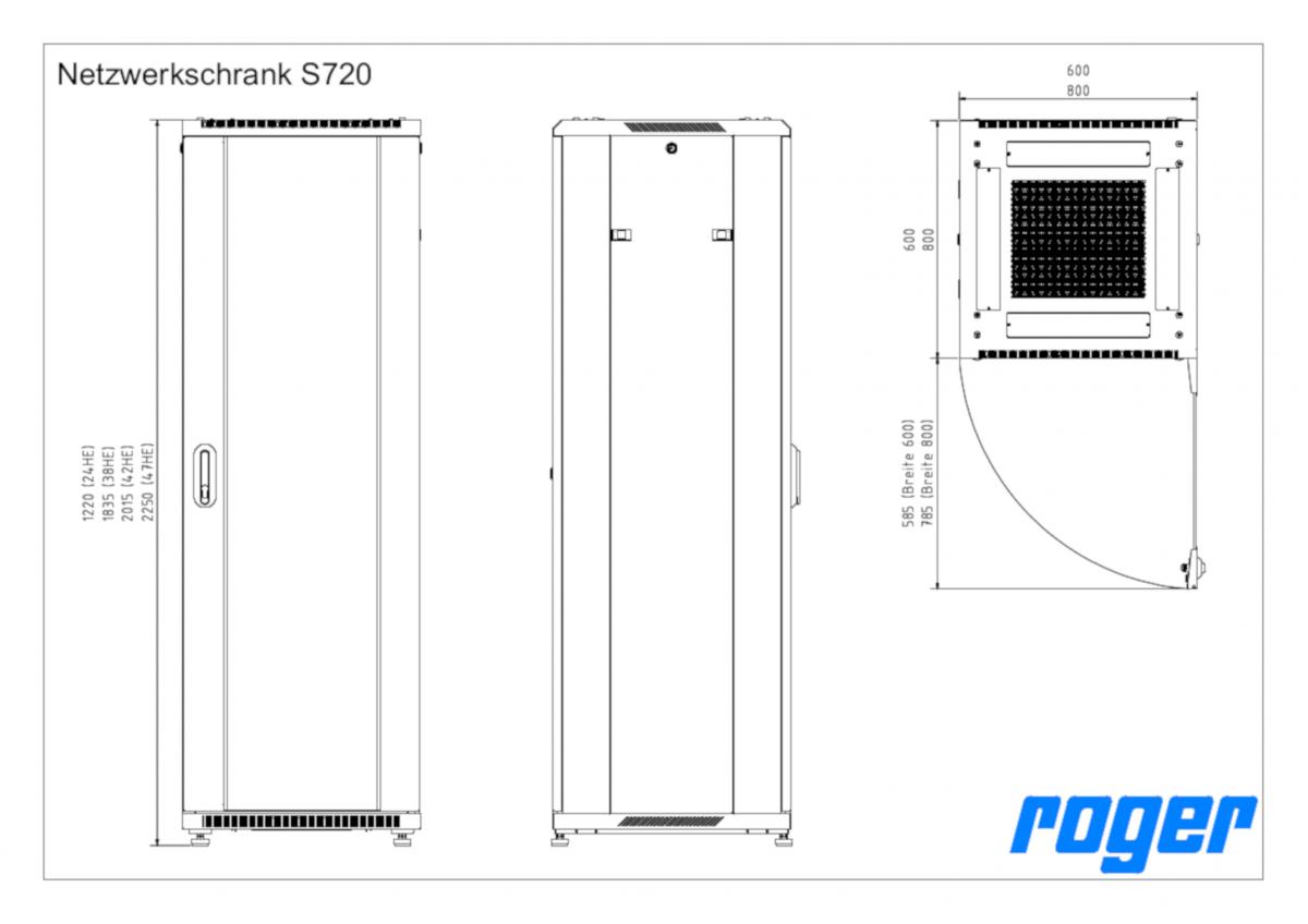 Netzwerkschrank S720