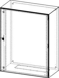 Gehäuse für Montageplatte 750x950mm Größe 800x1000x400mm