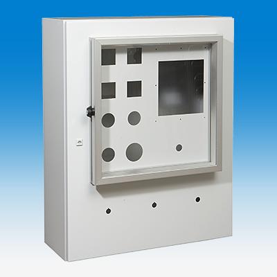 Uniflex RE, mit Aufsatzfenster, seitlichem Vorreiber und Durchbrüchen